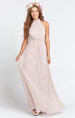 Show Me Your Mumu Collette Collar Dress ~ Magic Mauve Glimmer
