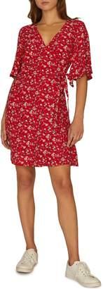 Sanctuary Girl on Fire Faux Wrap Dress