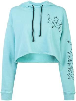 Adaptation cropped LA hoodie