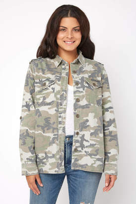 Abbeline Camo Utility Jacket