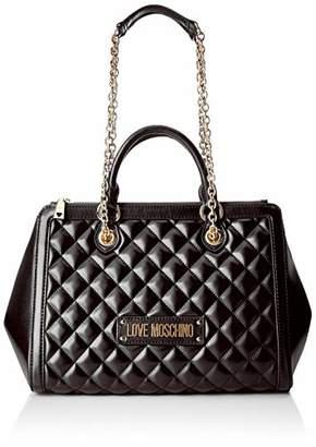 fdbbf64860cf Love Moschino Women s Quilted Nappa Pu Shoulder Bag