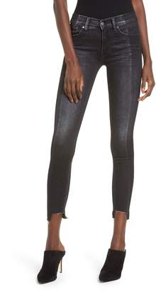 Hudson Jeans Nico Step Hem Crop Super Skinny Jeans