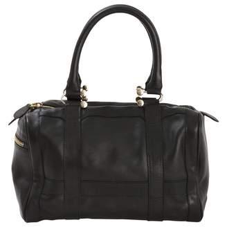 MySuelly Black Leather Handbag