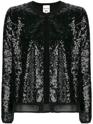 Semi-Couture Semicouture sequin embellished cardigan