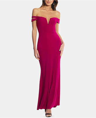 ae81873f Xscape Evenings Cold-Shoulder Petite Size Gown