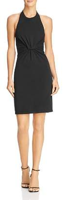 Alexander Wang Twisted Jersey Halter Dress