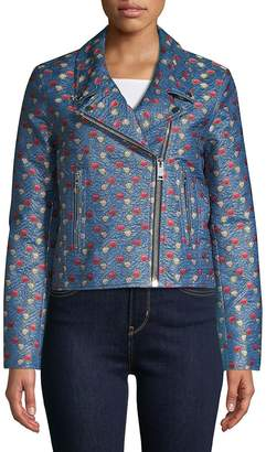 Isabel Marant Women's Jacquard Moto Jacket