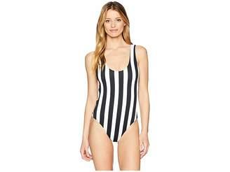 Volcom Stripe Club One-Piece Women's Swimsuits One Piece