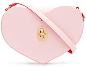 Niels Peeraer Bow Buckle Heart S bag