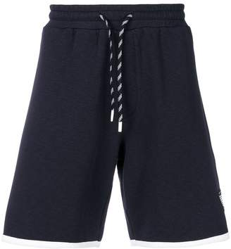 Emporio Armani contrast trim shorts
