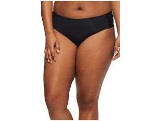 Becca by Rebecca Virtue Plus Size Color Splash Hipster Bottoms Women's Swimwear