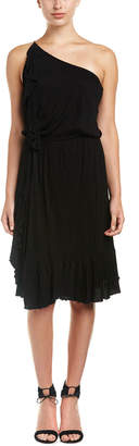 Ella Moss One-Shoulder Midi Dress