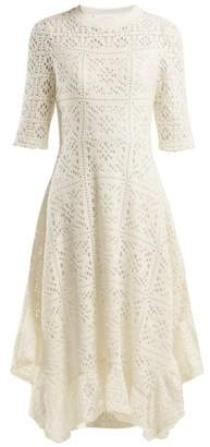 See By Chloé - Dipped Hem Lace Dress - Womens - White