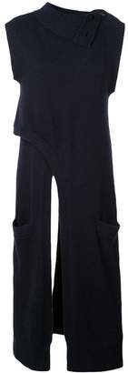 Derek Lam Criss-Cross Turtleneck Cashmere Knit Tunic