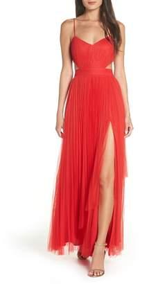 Fame & Partners Dakota Cutout A-Line Gown