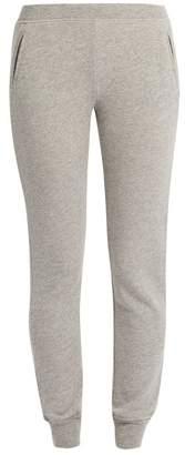 Atm - Slim Leg Cotton Blend Track Pants - Womens - Grey