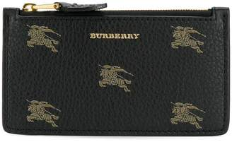 Burberry Equestrian Knight zipped wallet