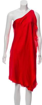 Ralph Lauren Silk Draped Dress w/ Tags