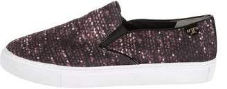 Tory Burch Printed Round-Toe Sneakers