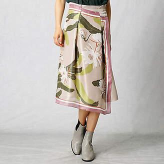 Artisan スカーフ柄 スカート(0801FI01)