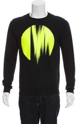 Christian Dior Printed Crew Neck Sweatshirt