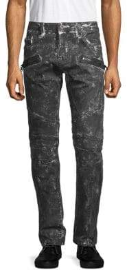 Cult of Individuality Greaser Stretch-Cotton Moto Pants