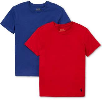 Polo Ralph Lauren Big Boys 2-Pk. Cotton T-Shirts