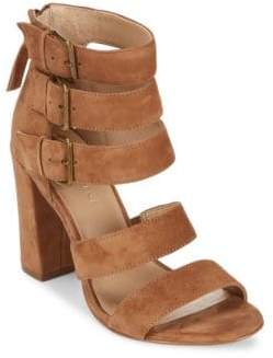 Saks Fifth Avenue Presley Leather Open Toe Sandals