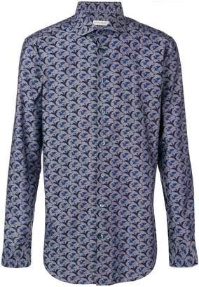 Etro dragon print shirt