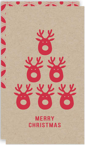 Deer Tree Self-Launch Mini Cards