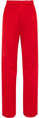 MM6 MAISON MARGIELA Stretch-jersey Straight-leg Pants - Red