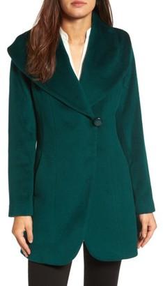 Women's Trina Turk Jemma Shawl Collar Coat $525 thestylecure.com