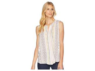 Bobeau B Collection by Fiona Woven Blouse