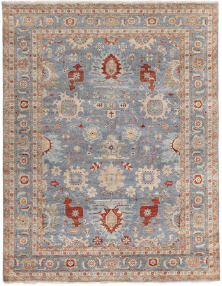 Exquisite Rugs Fine Serapi Hand-Knotted Wool Traditional Rug