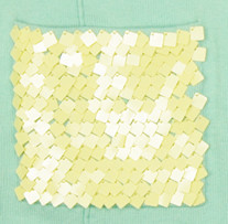 Autumn Cashmere Sequin Pocket Top in Seabreeze
