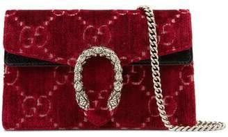 Gucci (グッチ) - 〔ディオニュソス〕ベルベット スーパーミニバッグ