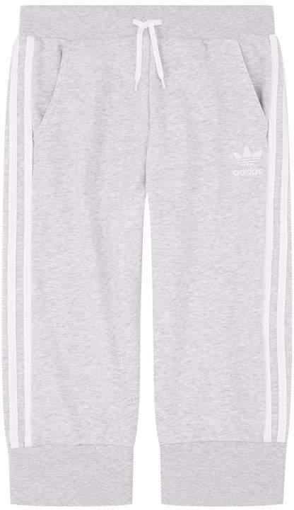Three Stripe Long Shorts
