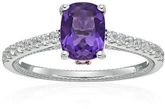 Sterling Silver African Amethyst