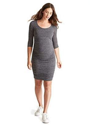 ce91caf911ed0 Ingrid & Isabel Women's Maternity 3/4 Sleeve Shirred Dress