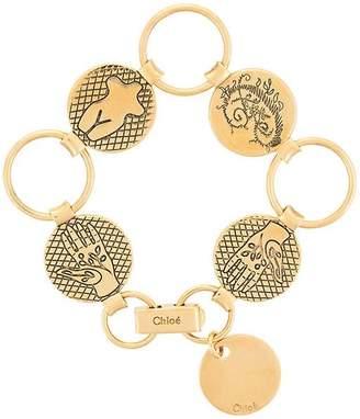 Chloé Emoji charm bracelet