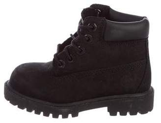 Timberland Boys' Leather Boots