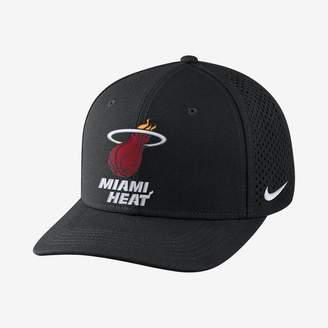 Nike Miami Heat AeroBill Classic99 Unisex Adjustable NBA Hat