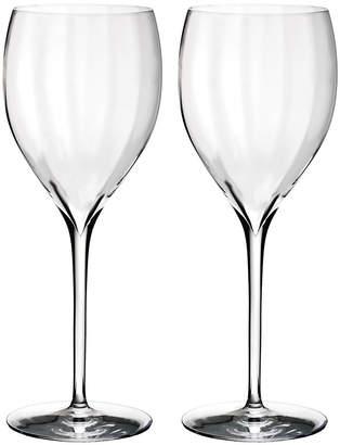 Waterford Optic 'Crisp White' Wine Glasses