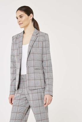 Long Tall Sally Premium Check Suit Jacket