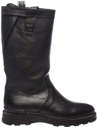 Woolrich Side Logo Tab Boots