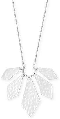 Kendra Scott Mari Geometric Pendant Necklace, Silver