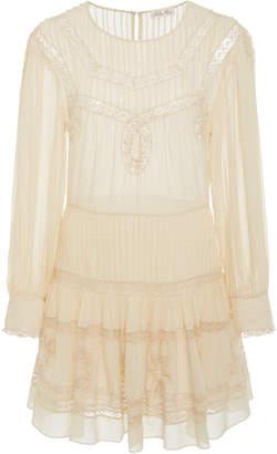 LoveShackFancy Mallory Silk Dress