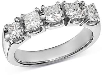 Bloomingdale's Diamond Square Band in 14K White Gold, 1.50 ct. t.w - 100% Exclusive
