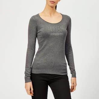 GUESS Women's Long Sleeve Emily Jumper