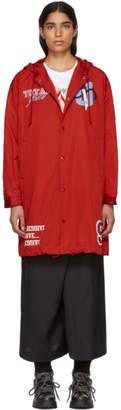 Undercover Red Passive Aggressive Rain Coat